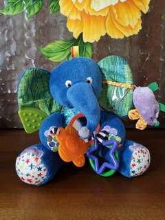 The world of Eric carle elephant