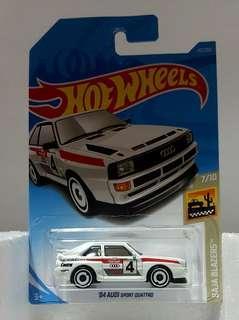 Hotwheels '84 Audi Sport Quattro