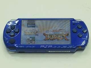 psp slim 2001 blue w 4gb memory