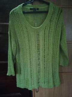 Green jumper by forever21