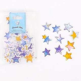 🚚 Pretty Star Stickers