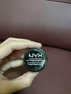 Nyx full coverag concealer orange for correction