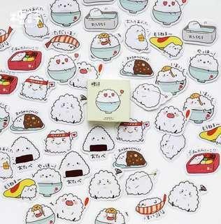 🚚 Cute Rice Stickers (Box)