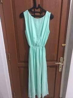 Maxi Dress mint green