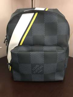 dea02be9d441 Louis Vuitton America s Cup Damier Cobalt Canvas Apollo Backpack