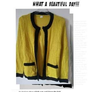 🚚 【智美精品屋】秋冬針織罩衫 開衫外套 短版小外套  新款 現貨