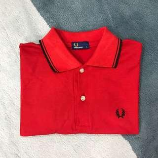 Red Polo Tee