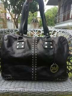 Mk extra large or weekend black bag