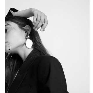 Mango Pendant Earring