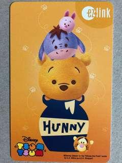 Brand new limited edition Winnie The Pooh , Tigger Eeyore Ezlink card for sale .