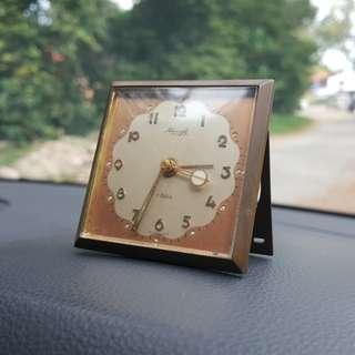 Vintage 1950s Art Deco Kienzle Alarm Table clock