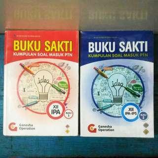 Buku Sakti Kumpulan Bank Soal SBMPTN IPA Saintek Ganesha Operation GO TPA Bahasa Indonesia Inggris Matematika Fisika Kimia Biologi