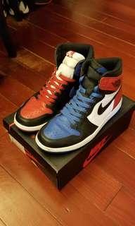Air Jordan 1 top 3 二手 us9.5