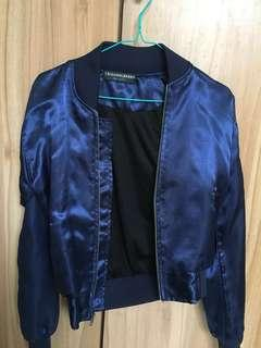blue bomber jacket zara look a like