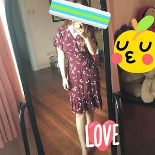 [New] Wrap dress