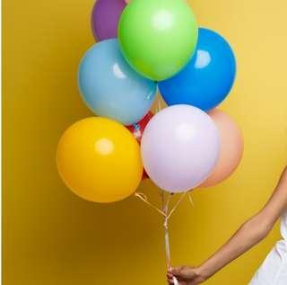 Balloons. Helium balloons