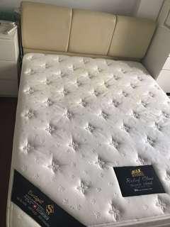 Standard Queen Size Bed Frame + Mattress