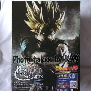 Dragonball Resolution of Soldiers Goku Figurine