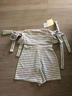 Missguided playsuit size 8