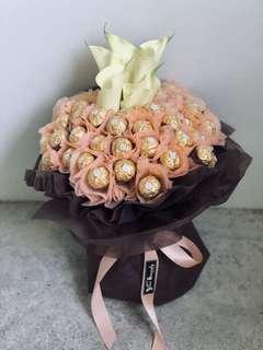 🎉💍 Anniversary bouquet // Chocolate bouquet // Ferrero Rocher bouquet