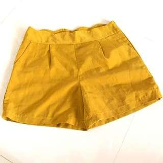 🚚 Plowbrands Shorts In Mustard Colour