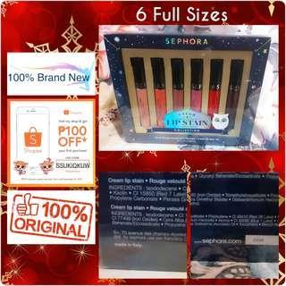 Sephora Cream Lip Stain Collection