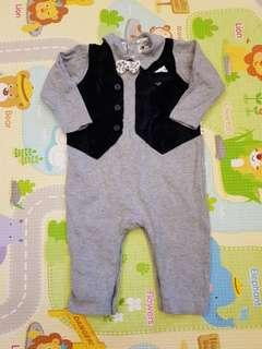 Armani Exchange Baby Romper Baby boy romper handsome birthday romper