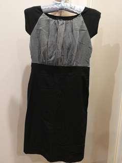 Black working dress