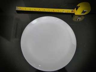 Three IKEA glass plates