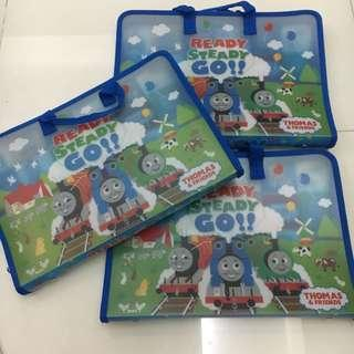 Thomas And Friends A4 size case / file bag (Zipper opening)