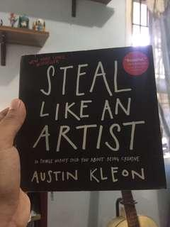 HOW TO STEAL LIKE AN ARTIST by AUSTIN KLEPN