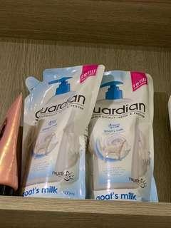 Guardian body shampoo refill pack (2x)