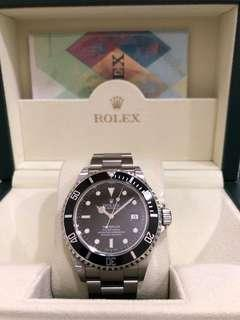 Rolex 16600 Sea-Dweller Black