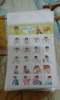 Yes Stickers WANNA ONE