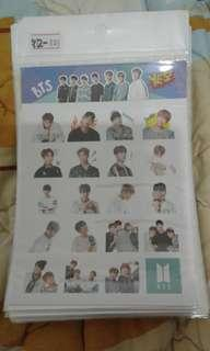 Yes Stickers BTS