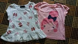 Seed and Mothercare Shirts