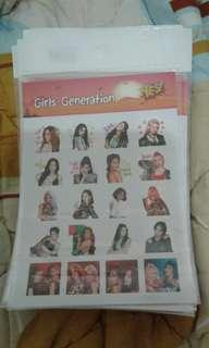 Yes Stickers Girls Generation
