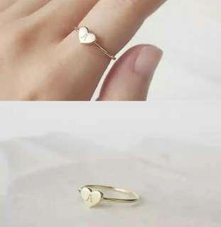 Customize Heart Ring