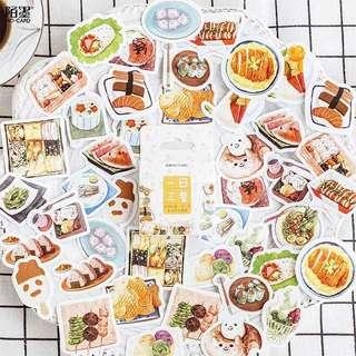 🚚 [In stock] Japanese Food Stickers Box