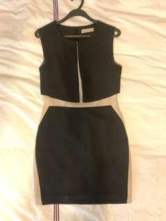 Sans & Sans monochrome dress