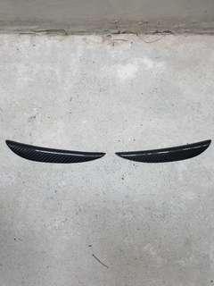 Carbon Fibre Mini Eyelids for Honda Civic FD