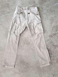 G-Star off white pants