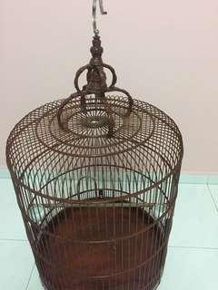 21 inch shama old cage