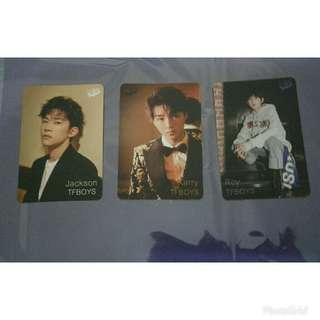Yes Card TF BOYS 1 set 3