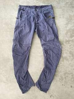 G-Star Purple Arc  button fly pant