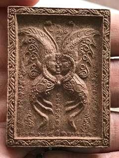 Kruba Krissana Blk A Butterfly Amulet