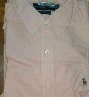 Polo ralph Lauren long sleeve Oxford shirt.  Brand new.