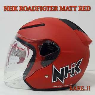 MATT RED NHK ROADFIGHTER HELMET..😍!!