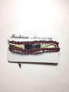 Courage wrap bracelet