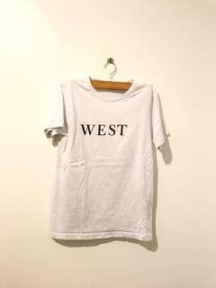 Statement White Tshirt